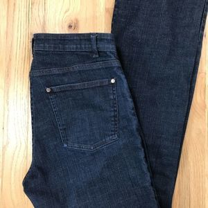 """Eileen Fisher Petite jeans 9.5"""" rise"""